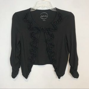 🌟3/$30🌟 Cropped Open Cardigan Black Size PS